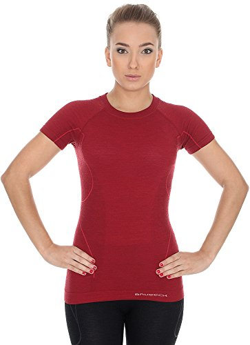 brubeck ss11700 active wool damen shirt merino. Black Bedroom Furniture Sets. Home Design Ideas